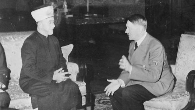 Reunión entre el muftí de Jerusalén Haj Amin al-Husseini y Adolf Hitler en noviembre de 1941