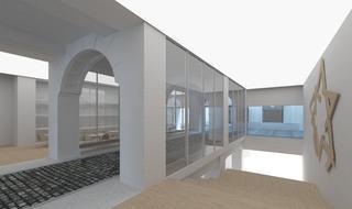 Así se verá el nuevo Museo del Holocausto.