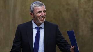 "Rafi Peretz, ministro de Asuntos de Jerusalem: ""Me siento bien""."