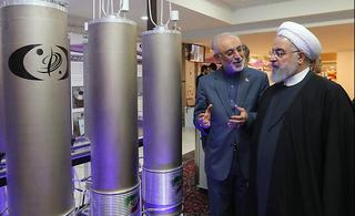 Rouhani, durante una visita a una instalación nuclear iraní.