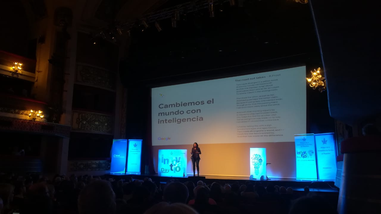 Florencia Sabatini, gerente de Comunicaciones de Google Cono Sur, habló sobre la inteligencia artificial.