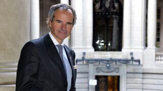 Rafael Grossi, secretario general del organismo de regulación d ela energía atómica.
