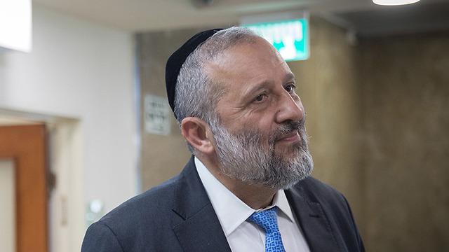 Ministro del Interior, Aryeh Deri