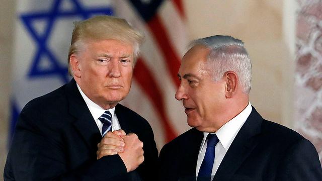 Netanyahu y Trump en Jerusalem
