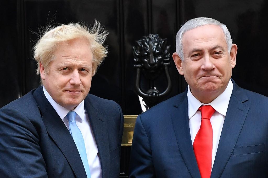 Netanyahu Johnson