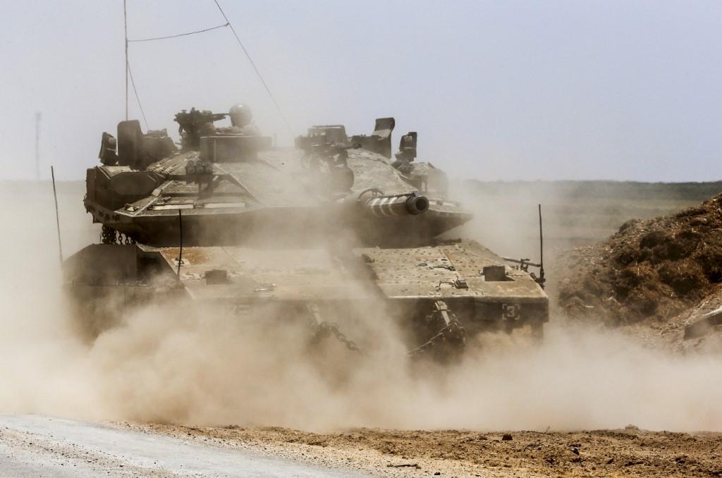 El tanque israelí Merkava Mark IV