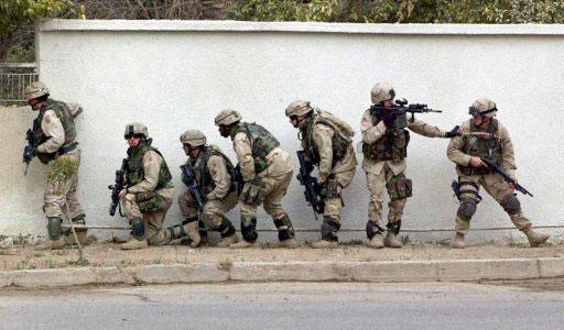 Tropas estadounidenses en Irak