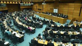 Reunión de la OIEA en Viena.