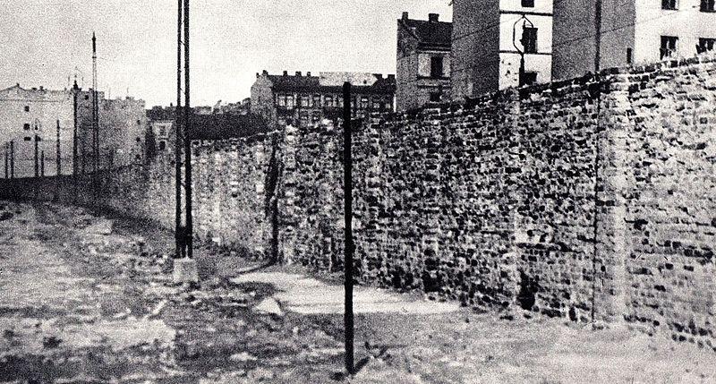 Muro en Varsovia