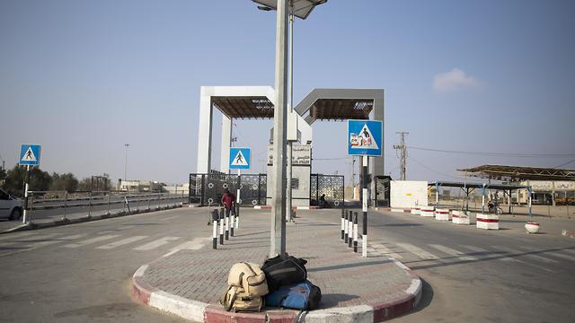 Cruce entre Gaza y Egipto en Rafah