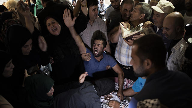 Funeral de Tamer al-Sultan en Gaza