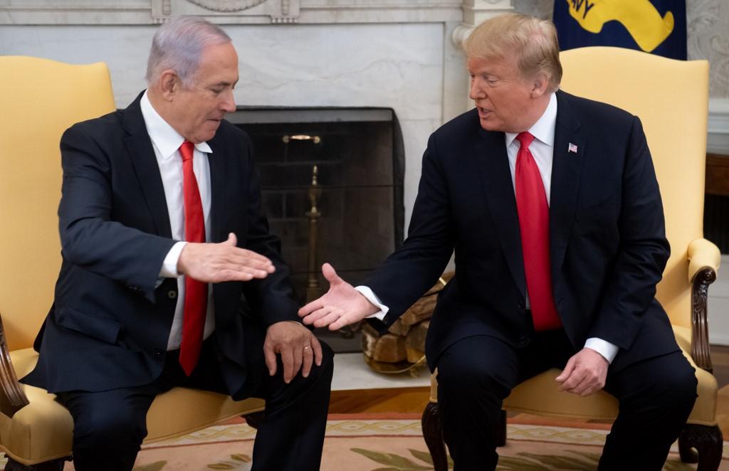 Trump y Netanyahu