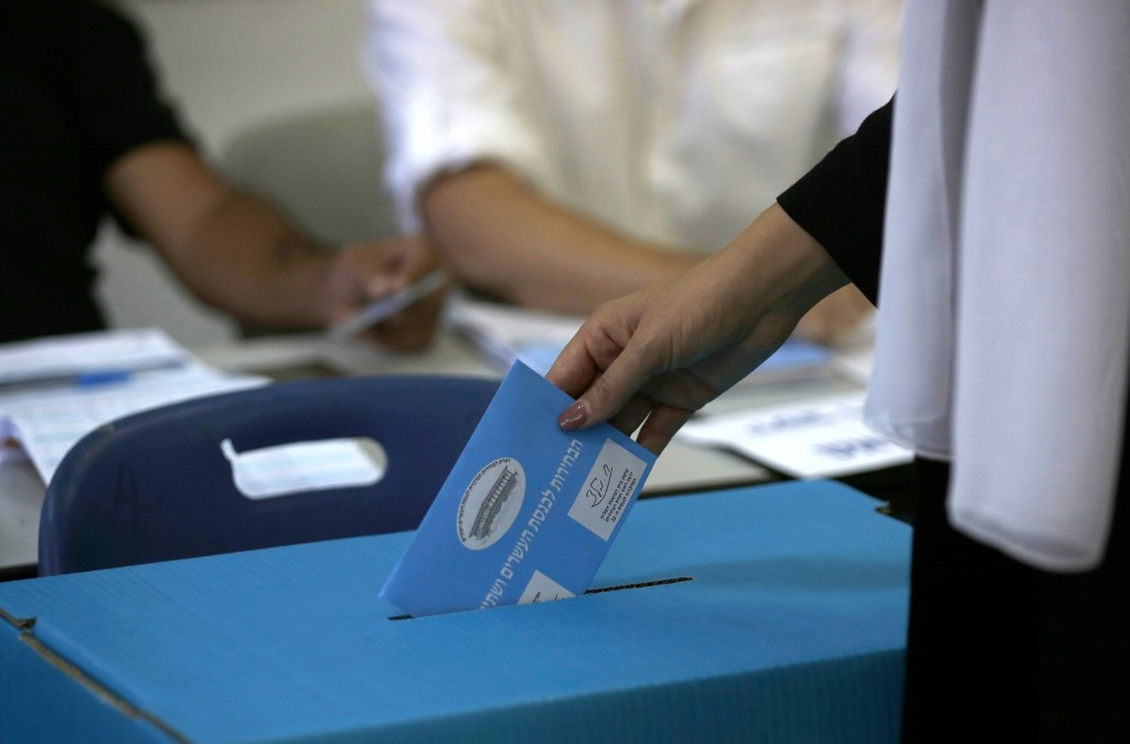 Día de elecciones en Israel