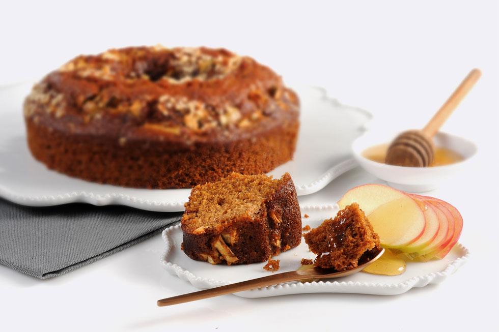 torta miel y manzana