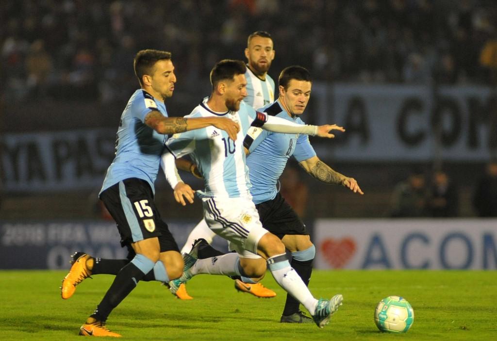 Messi Uruguay Argentina