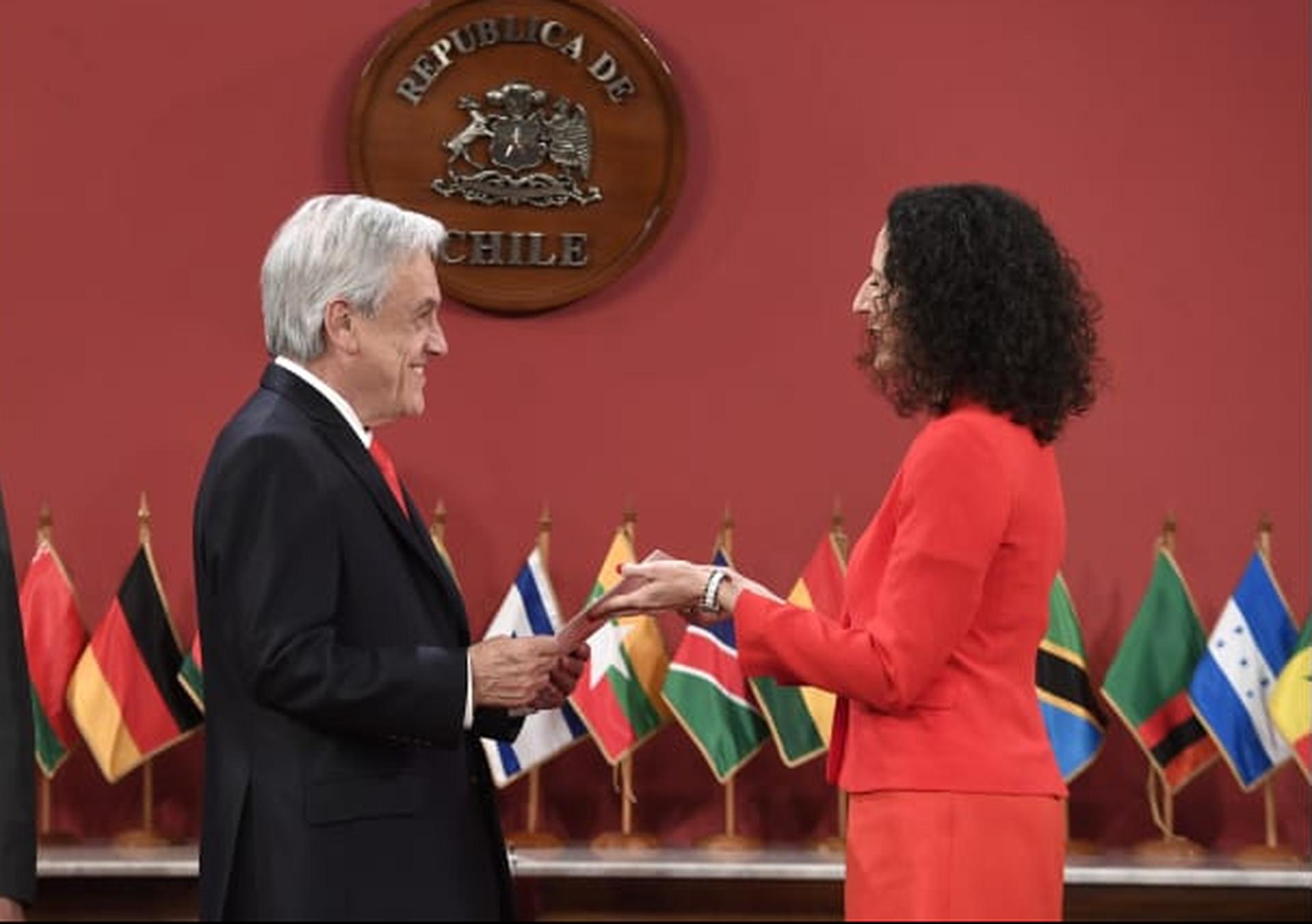Embajadora de Israel en Chile