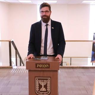 Gabriel Colodro, presidente de la Comunidad Chilena de Israel