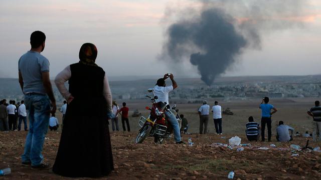 El ataque del Estado Islámico contra la ciudad kurda de Kobani