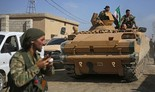 Avance de las fuerzas sirias respaldadas por Turquía