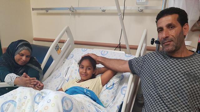 Roaia se recupera de las heridas en el hospital