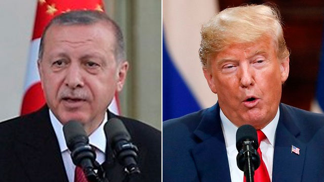 Recep Tayyip Erdoğan y Donald Trump