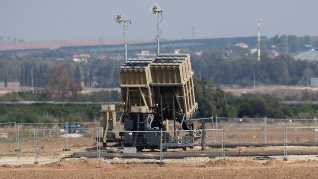 La cúpula de hierro israelí