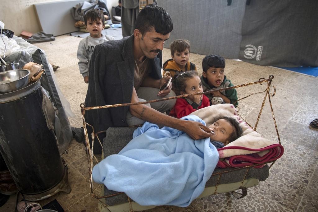 siria kurdos desplazados