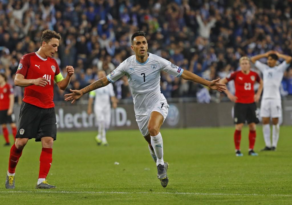 Eran Zahavi es el goleador de las eliminatorias para la Eurocopa 2020