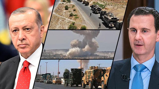 Primeros enfrentamientos entre Turquía y las fuerzas leales al régimen sirio de Bashar Al Assad