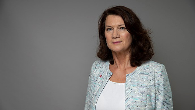 La ministra de Asuntos Exteriores de Suecia, Ann Linde