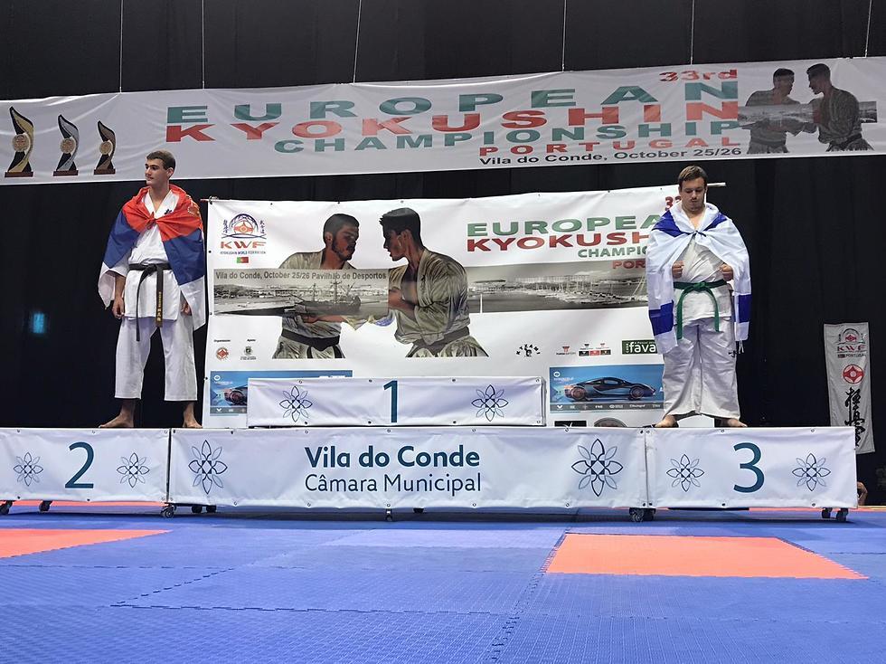 Dolev Fridburg y el serbio comparten el podio; el primer puesto quedó vacío