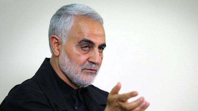 Comandante de la Fuerza Quds de Irán Qasem Soleimani