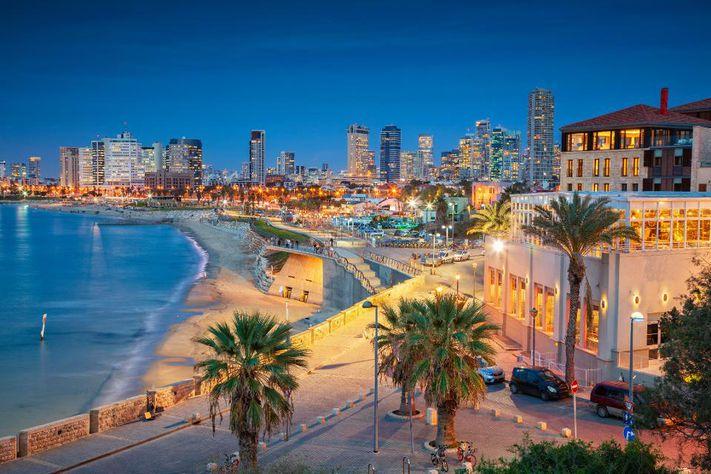 Vista panorámica de Tel Aviv