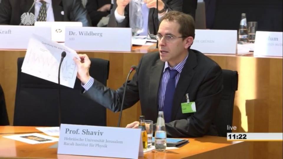 """Nir Shaviv: """"Hay científicos que ignoran las evidencias"""""""