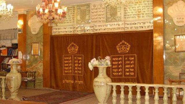 Una de las más de 50 sinagogas iraníes
