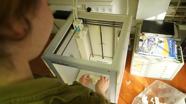 Se producen piezas con impresión 3D