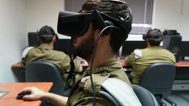 En el aula de realidad virtual se experimenta la realidad en el terreno