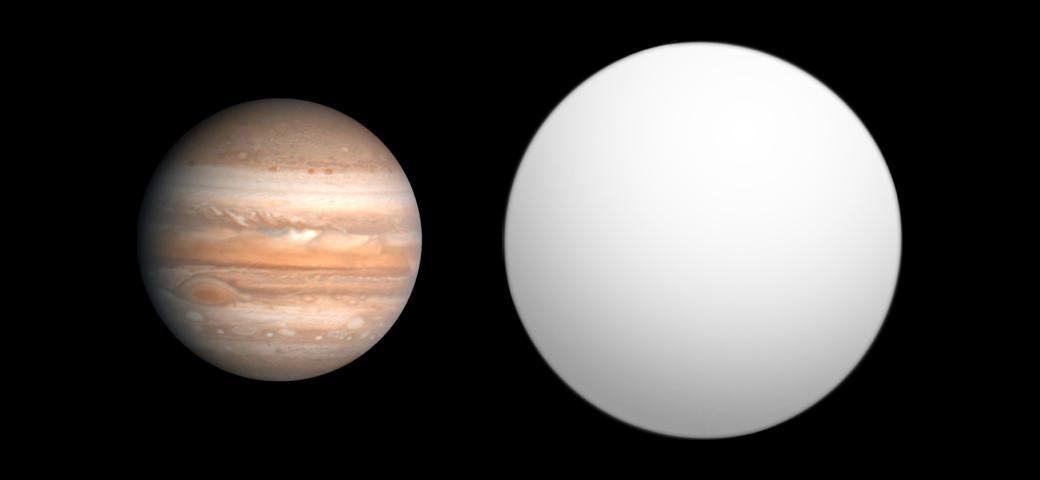 Una comparación entre Saturno y HAT-P-9.