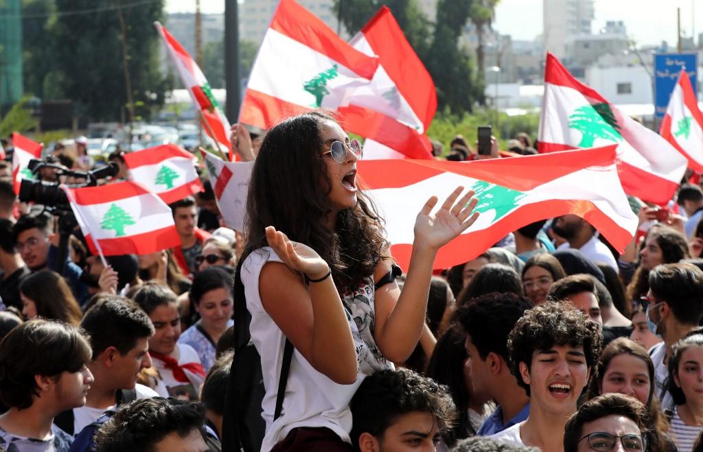 Escolares y universitarios unieron fuerzas para manifestarse contra el gobierno