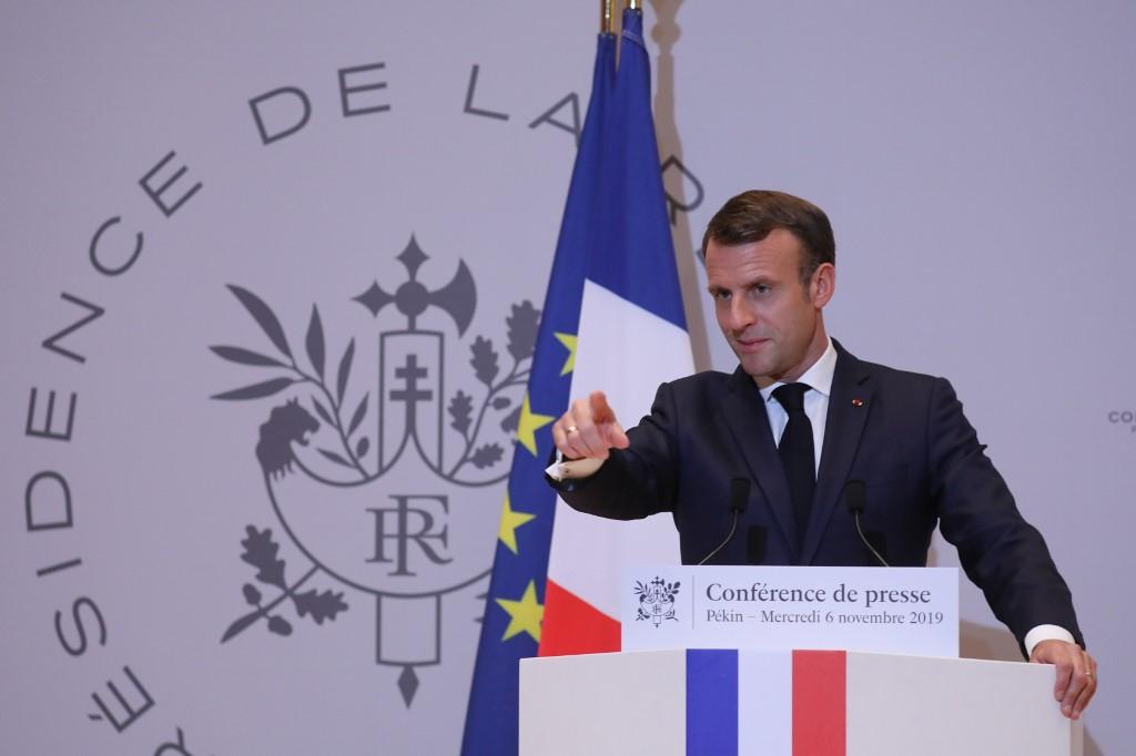 Emmanuel Macron condenó la reanudación del enriquecimiento de uranio de Irán
