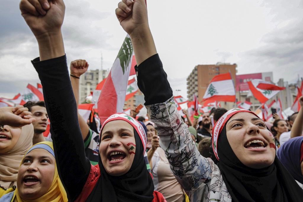 mujeres libano