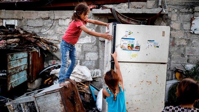 Pobreza en Gaza