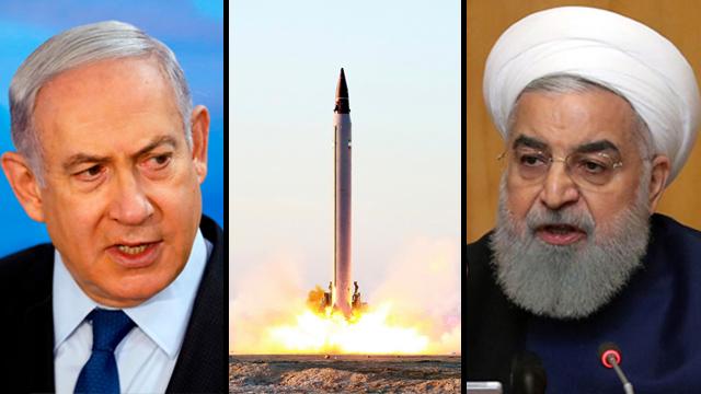Netanyahu Rouhani