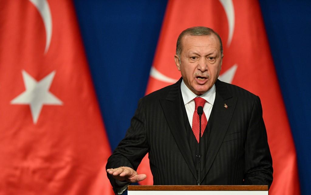Recep Tayyip Erdogan manifestó que Turquía arrestó a 287 terroristas del EI