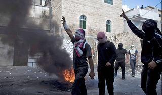 Disturbios provocados por la Yihad Islámica