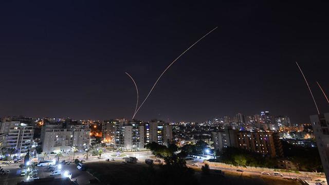 El sistema 'Cúpula de Hierro' intercepta un cohete sobre Ashkelon