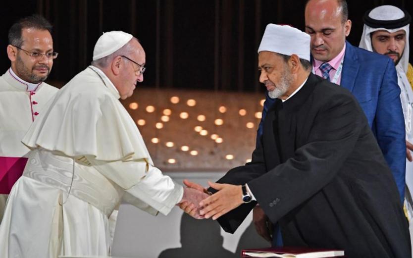 Reflexiones a partir de la Declaración sobre Fraternidad Humana para la paz mundial y la convivencia común