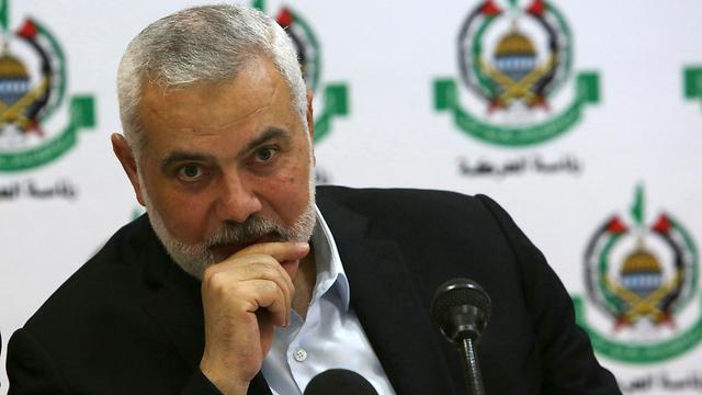 El líder de Hamás, Ismail Haniyeh