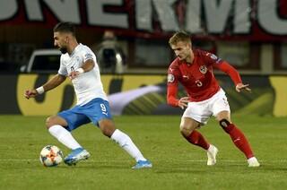 Israel frente a Austra en la eliminatoria para la Eurocopa 2020