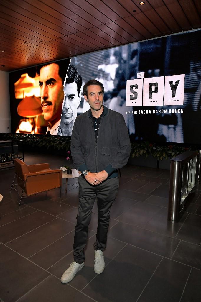 Recientemente, el actor interpretó al espía israelí Eli Cohen